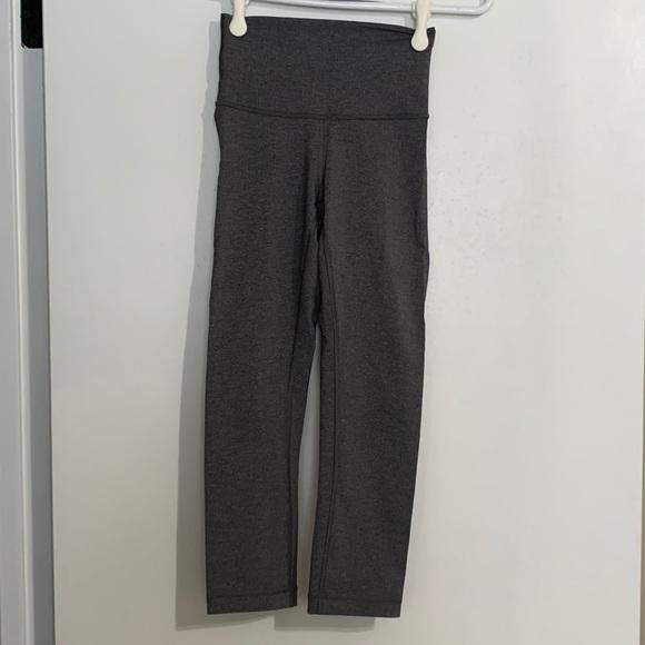Lululemon Grey Cropped Pant